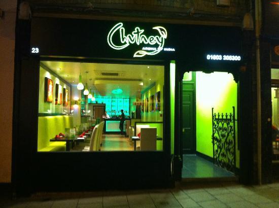 Chutney: shop front