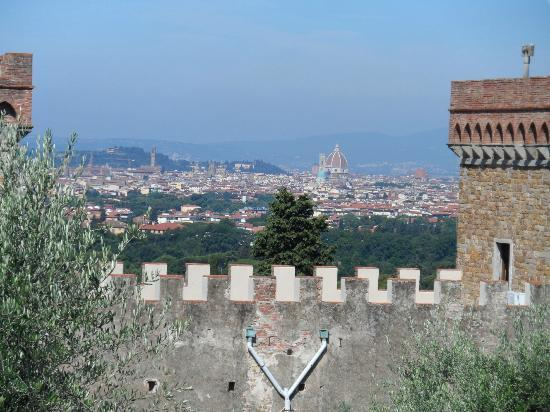 A Casa di Olivo: Views of Florence from the olive grove