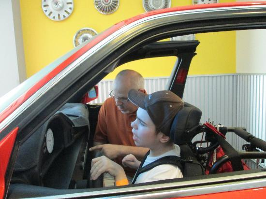 Morgan's Wonderland: Fun at Morgans Wonderland-driving lessons...