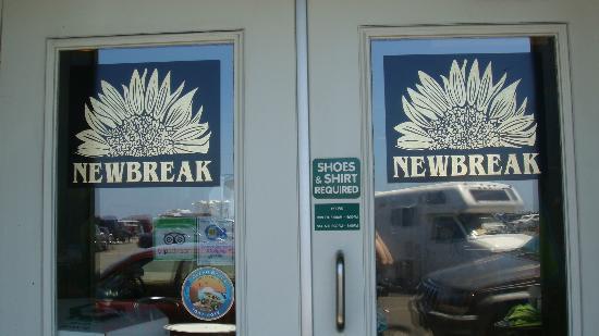 Newbreak Coffee & Cafe: Front Doors