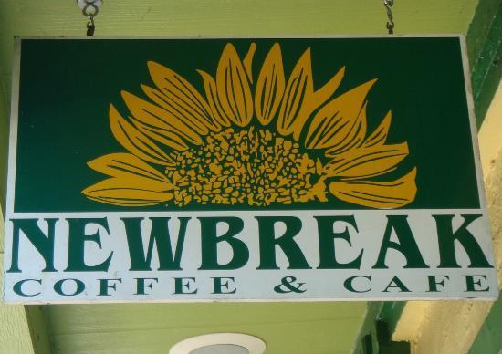 Newbreak Coffee & Cafe: Sign