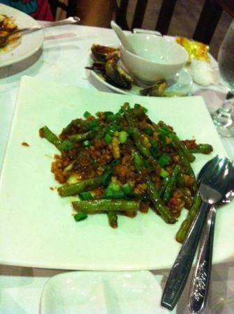 Batam View Beach Resort: French bean with seafood from Kelong Restaurant (MUST TRY)