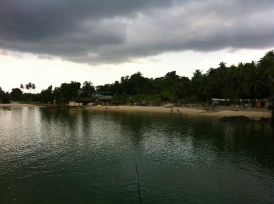 Batam View Beach Resort: View from our villa