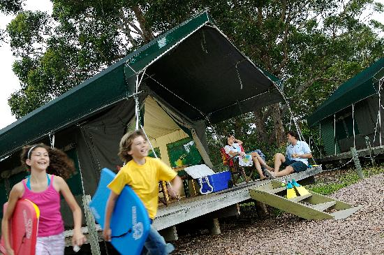Shoal Bay Holiday Park Safari Bungalow