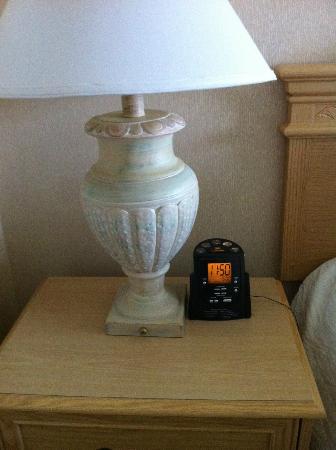 Hilton Garden Inn Mountain View: Alarm clock provided