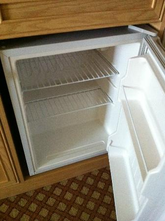 Hilton Garden Inn Mountain View: refrigerator to keep leftovers