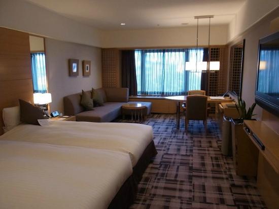 Kyoto Brighton Hotel: 上品でセンスの良いインテリア