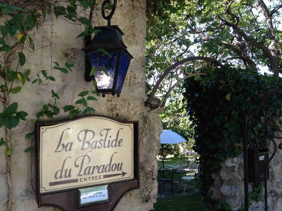 La Bastide du Paradou : arrivée