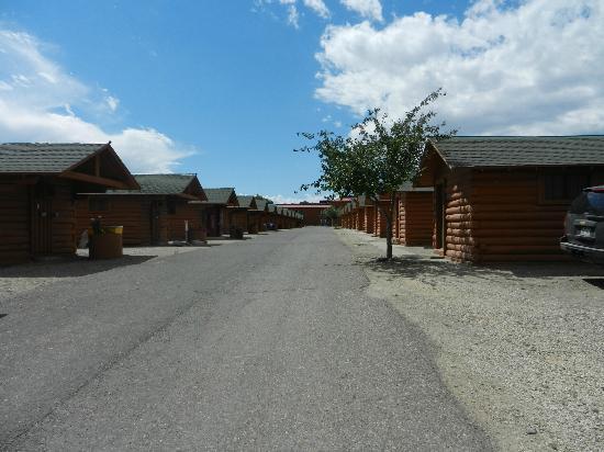 """Buffalo Bill Cabin Village: La """" rue """" principale"""