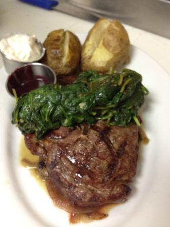 PK's: Steak dinner