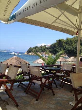 Plaza Skiathos Hotel: tavernaen