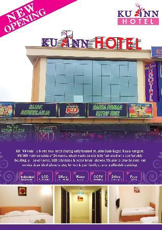 Ku Inn Hotel Flyer Front Page