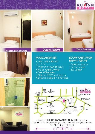 Ku Inn Hotel Flyer Back Page
