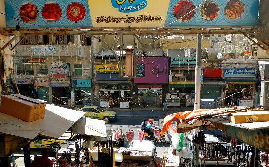 Arab Tower Hotel: Hotel Alley