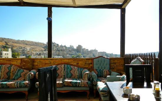Arab Tower Hotel: Roof-top Breakfast