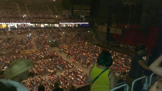 SAP Arena: before the tom petty gig. 30.06.2012