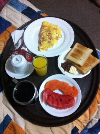 Lizard King Hotel Resort: Breakfast!