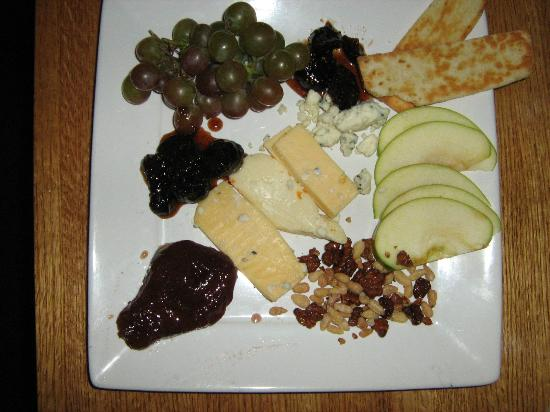 The Timbers Restaurant: Fruit, cheese, and nuts as an appetizer or dessert