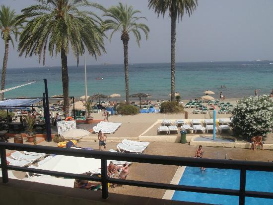 View Of Pool And Beach From Balcony Picture Of Ibiza Jet