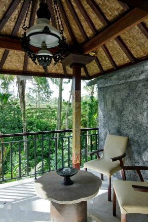 Mulawarman Ubud Bali: Stunning view from our terrace room