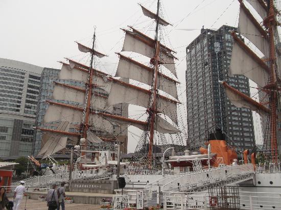 Sail Training Ship Nippon Maru: 帆船日本丸の写真その2