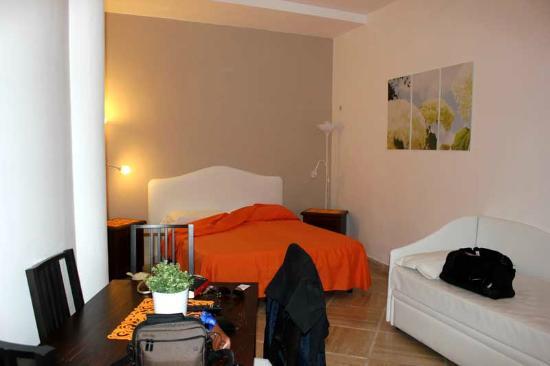 Sorrento Town Suites: Letto