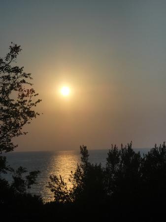 Hotel Ulisse : Tramonto sul mare