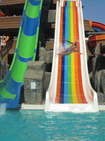 Royal Dragon Hotel: The Waterslides