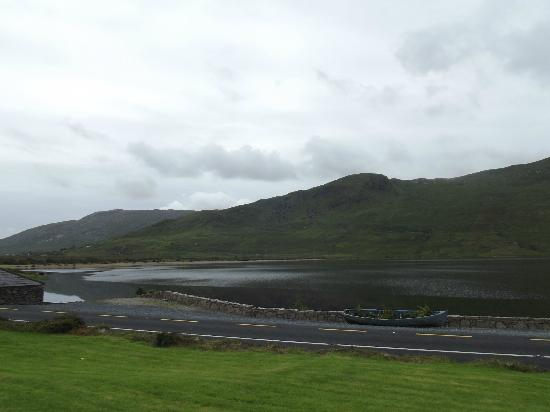 Kylemore House: View from across the road
