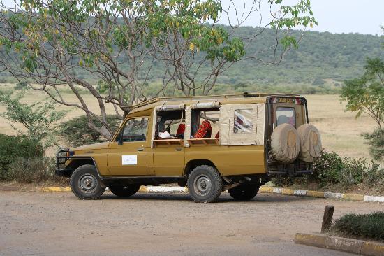 Ol Seki Hemingways Mara: The ride