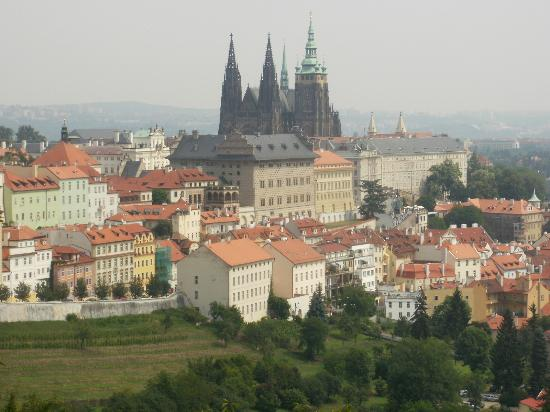 Hotel U Krize: Prague from Petrin