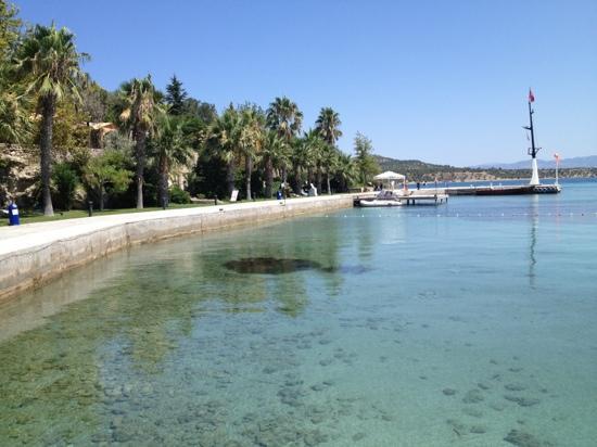 Kalem Adasi Oliviera Resort: beach