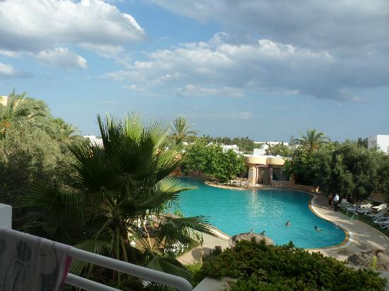 Hammamet Azur Plaza : veiw of the pool