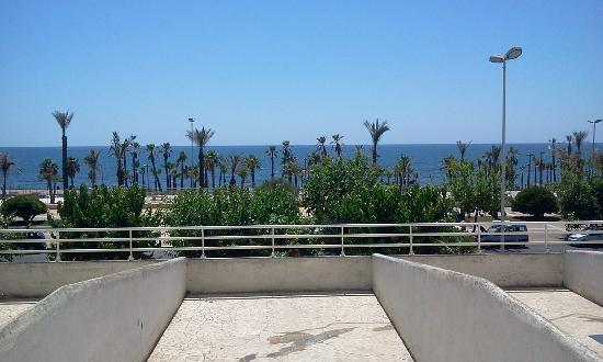 Hotel Mediterraneo: View from the balcony