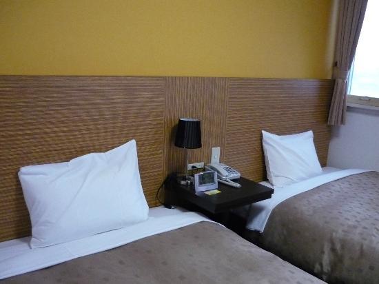 Hotel 1-2-3 Kofu Shingen Onsen : モダンなブラウン基調