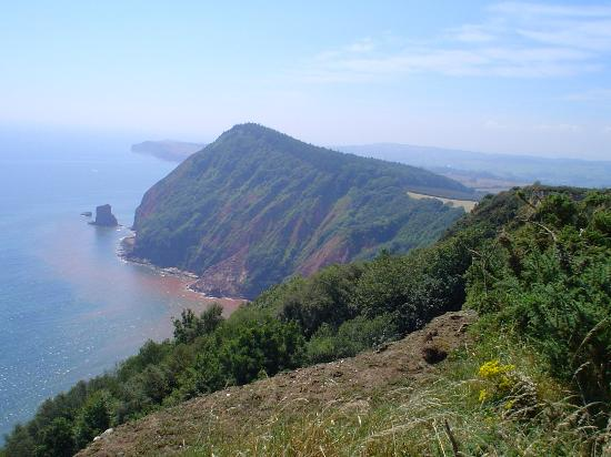 Jurassic Coast: Penninsular to the west of Sidmouth.
