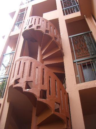 Lok Ann Hotel: Fire escape