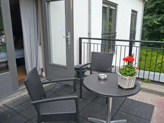 Saillant Hotel Gulpenerland: Balcony of my room