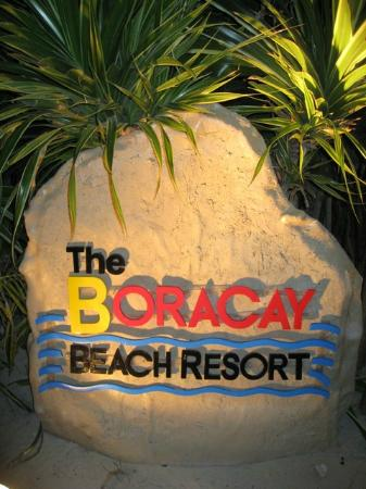 Boracay Beach Resort: signage