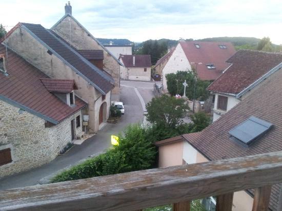 Hotel Parenthese : Vue depuis les chambres côté du village.