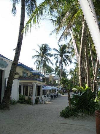 Boracay Beach Resort : hotel grounds