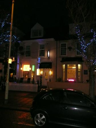 Night Time View Of Beechwood Guest House