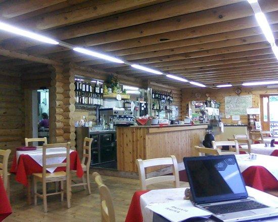 Rifugio Colle del Lys : Bancone