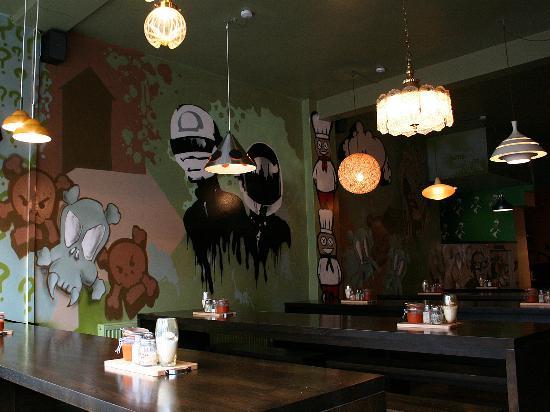Jo'Burger Rathmines: interior