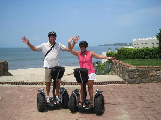 riding on the beach picture of segway tours vallarta bucerias tripadvisor. Black Bedroom Furniture Sets. Home Design Ideas
