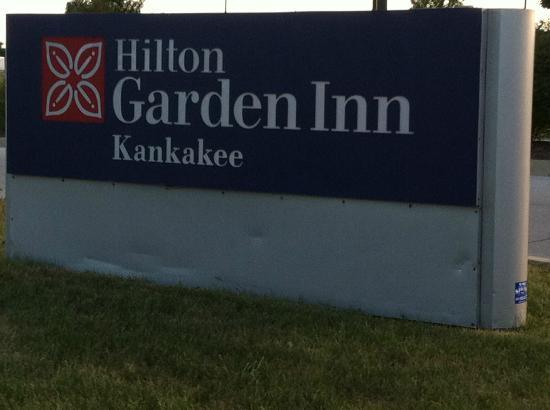 Hilton Garden Inn Kankakee : Entrance Sign
