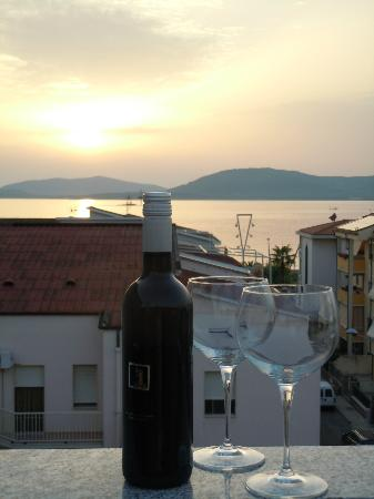 Lloc d'Or B&B: The view from the wonderful terrace