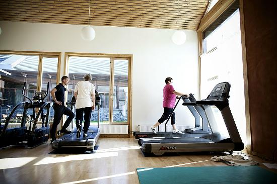 Roros Rehabilitering Guesthotell: Fully equipt gym