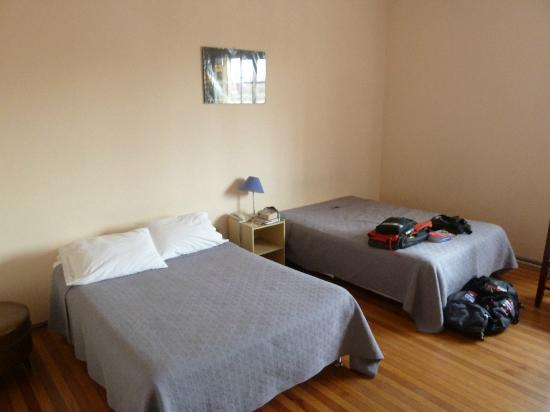 Los Andes Bed & Breakfast: Our room