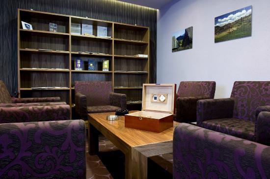 Wellness Hotel Chopok: Smoking lounge